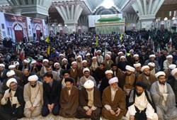 حوزویان استان تهران با آرمان های امام راحل تجدیدمیثاق کردند