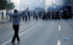 تظاهرات شهروندان الجزایر در نزدیکی کاخ ریاست جمهوری