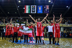 Iran vs Australia at 2019 FIBA Basketball World Cup qualifiers