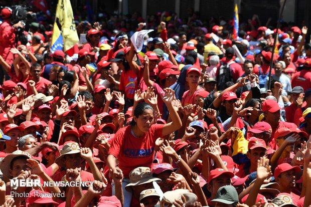 فتنه آمریکایی در ونزوئلا