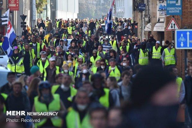 ادامه شنبه های اعتراضی در فرانسه