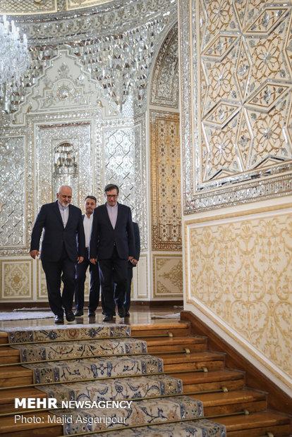 Zarif receives deputy foreign minister of Venezuela