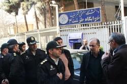مناطق اطراف دانشگاه شریف از معتادان و سارقین پاکسازی شد