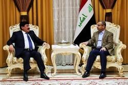 عراق میں شام کے سفیر کی سلیم الجبوری سے ملاقات