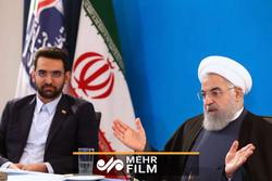 هدیه روحانی به خبرنگاران واکنش جالب وزیر ارتباطات را دربرداشت
