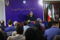 Tehran's mayor attends 1st presser