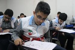 مرحله شهرستانی هفتمین دوره المپیاد آماده در قزوین برگزار شد