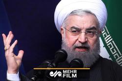 روحانی: با چاقوکش مذاکره نمیکنیم