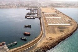 Afghan's nine transit goods vessels dock in Chabahar port
