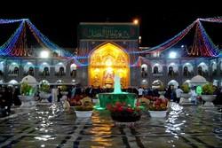 مشهد غرق در نور و سرور شد/جشن های میلاد«کوثر» در بارگاه مطهر رضوی
