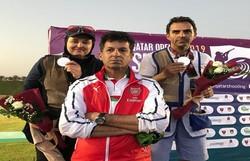 تیم ملی تراپ به مدال نقره جایزه بزرگ قطر دست پیدا کرد