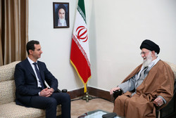 Leader receives Bashar al-Assad