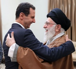 Leader meets with Syrian president in Tehran