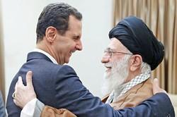 Syrian president meets Ayatollah Khamenei in Tehran