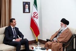 قائد الثورة ابلغ بشار الاسد بان الشعب السوري خط أحمر
