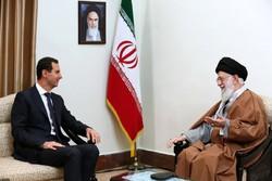 الأسد في طهران رسالة إلى أذناب الشيطان الأكبر