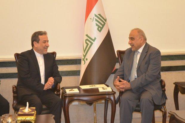 Iran's Araghchi meets Iraqi PM in Baghdad