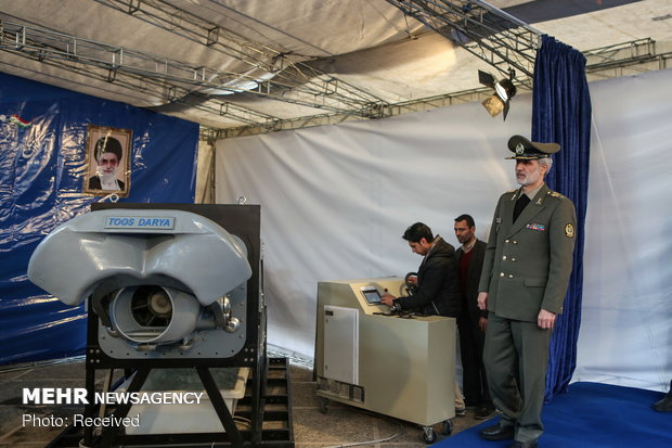 Unveiling ceremony of home-made water-jet propulsion system