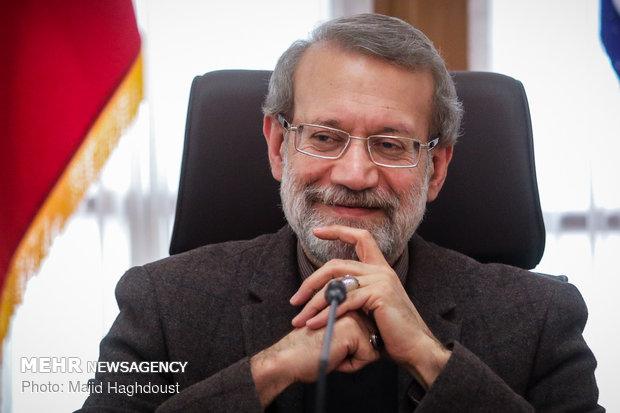 واکنش لاریجانی به حضور در انتخابات ریاست جمهوری