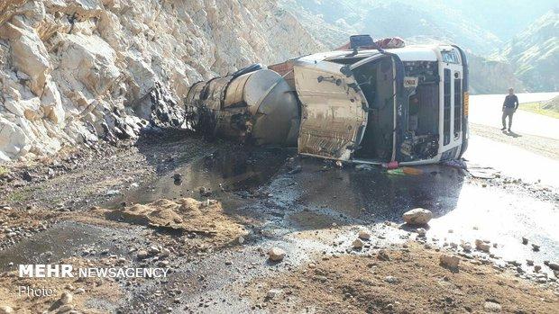 کابوسی تمام نشدنی در جاده های کردستان/ نفتکشها بیترمز میرانند