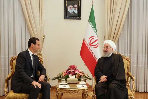 Iran to stand by Syrian govt., nation like before: pres. Rouhani