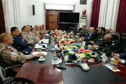 سردار تقیزاده با رئیس ستاد ارتش عراق دیدار و گفتگو کرد