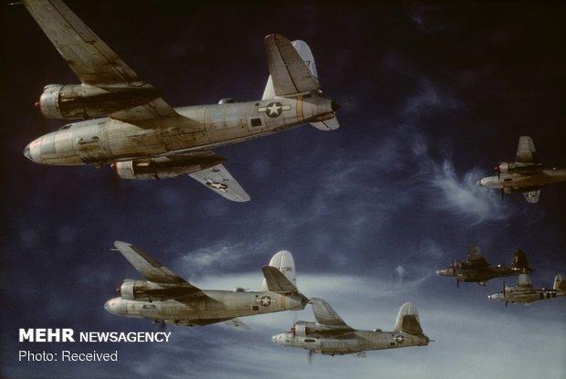 تصاویر رنگی از جنگ جهانی دوم