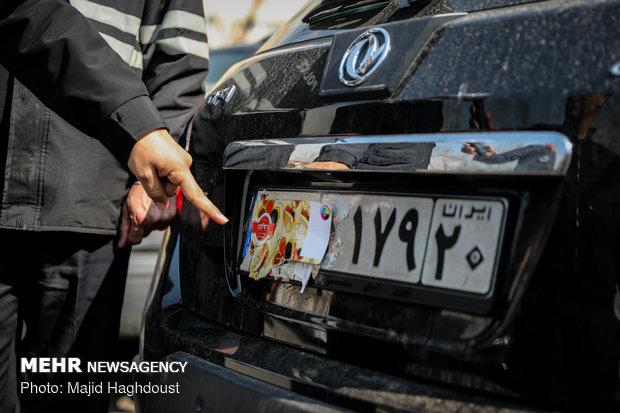 اجرای طرح طاهر، طرح انتظامی-ترافیکی با رویکرد ارتقای انظباط و ایمنی ترافیکی شهر تهران