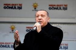 اردوغان: باور نمی کنم آمریکا تسلیحات خود را از کُردها پس بگیرد