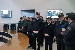 قرارگاه نوروزی و مرکز کنترل ترافیک مرفوک ناجا افتتاح شد