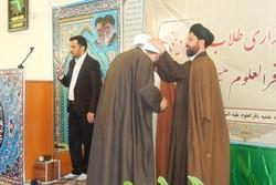 آیین عمامهگذاری طلاب حوزه علمیه باقرالعلوم (ع) بسطام برگزار شد