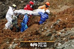Endonezya'da altın madeni çöktü!