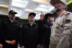 افتتاح قرارگاه نوروزی و مرکز کنترل ترافیک مرفوک ناجا