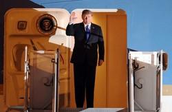 گەیشتنی ترامپ بە هانوی