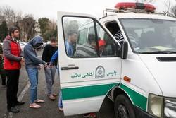 دستگیری باند ۴ نفره سارقان داخل خودرو