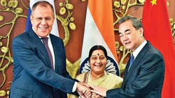 India, China, Russia vow to 'eradicate terrorism'