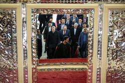 دیدار نخست وزیر ارمنستان با رییس مجلس شورای اسلامی