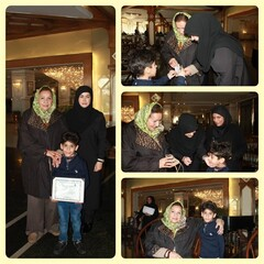 """Youngest"" Iranian woodturner honored"