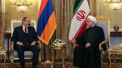 Rouhani: Iran happy with Armenia's stance on illegal sanctions
