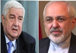 Zarif, Walid al-Muallem talk on phone