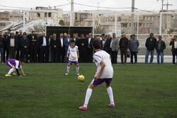 افتتاح و کلنگ زنی ۶ پروژه عمرانی شهر صدرا در فارس