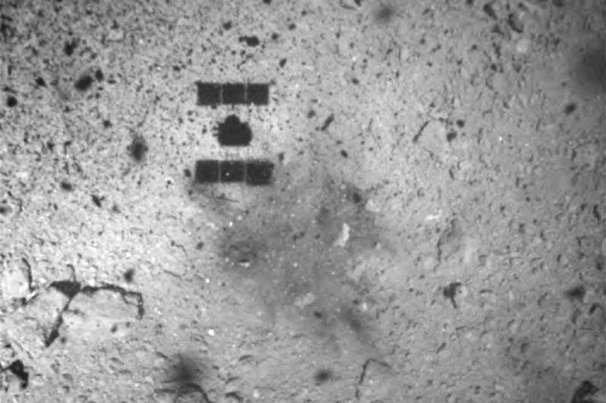 ژاپنی ها مواد منفجره به سمت سیارک «ریوگو» پرتاب می کنند