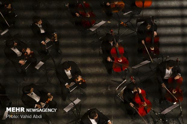 Tabriz Philharmonic Orchestra concert