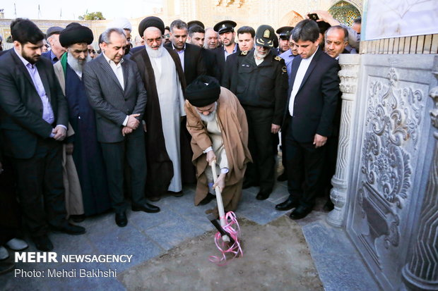 افتتاح شبستان جدید حضرت زهرا (س) در حرم حضرت معصومه (س)