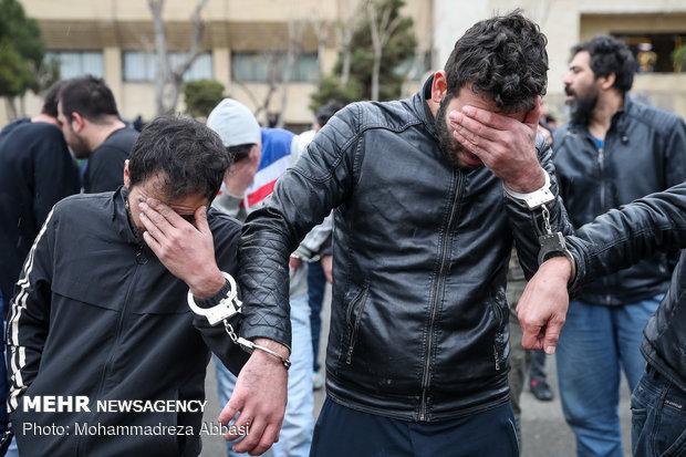 توضیحات تکمیلی دستگیری دو سارق جیب بر در مراسم ترحیم مرحوم مشایخی