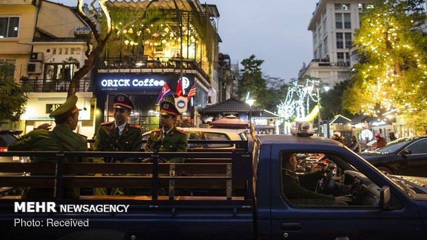 ورود ترامپ به هانوی