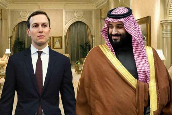 امریکہ نے اسرائیل کا نیا نقشہ پیش کردیا/کوشنر اور بن سلمان کی گہری دوستی
