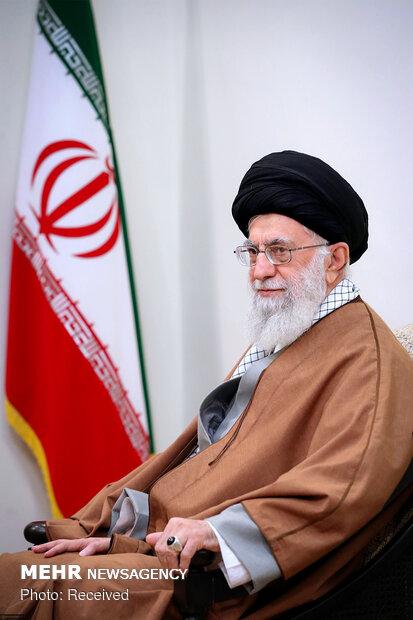 استقبال قائد الثورة رئيس الوزراء الارميني في طهران