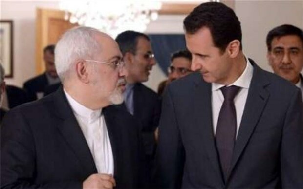 الرئيس السوري يدعو ظريف لزيارة دمشق