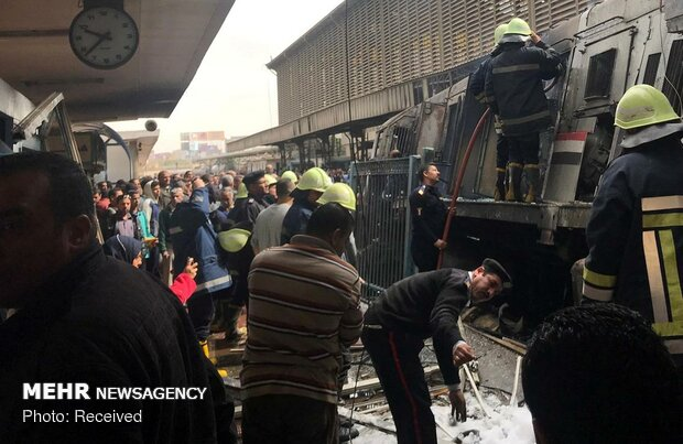 دهها کشته و زخمی در سانحه قطار در مصر